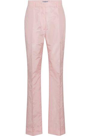 Prada Damen Hosen & Jeans - Hose aus Seidentaft