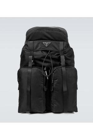 Prada Rucksack aus Leder und Nylon