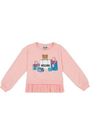 Moschino Bedrucktes Sweatshirt aus Baumwolle