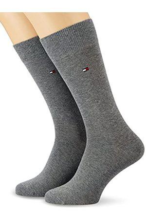 Tommy Hilfiger Herren Socken Th Men Classic 2er Pack, BLICKDICHT, (Middle Grey Melange 758)