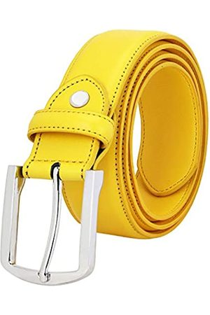 Falari Herren-Gürtel aus echtem Leder mit einfacher Dornschnalle