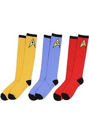 Bioworld Star Trek Socken einheitliche Knie hoch Kostüm Kleid erwachsene Männer Frauen (3 Stück)