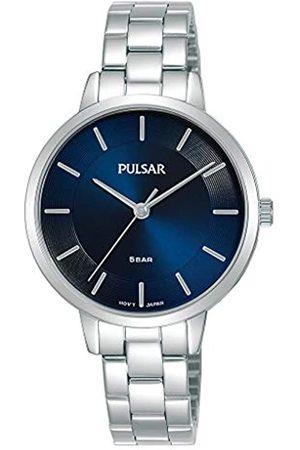 Pulsar Pulsar Quarz Damen-Uhr Edelstahl mit Metallband PH8475X1