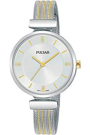 Pulsar Pulsar Quarz Damen-Uhr Edelstahl mit Metallband PH8469X1