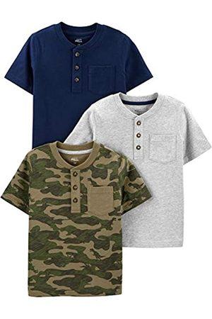 Simple Joys by Carter's Simple Joys by Carter's 3-Pack Short-Sleeve Pocket Henley Tee Fashion-t-Shirts, 3 Jahre