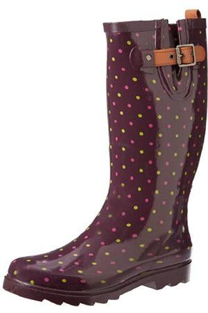 Chooka Damen Stiefel, klassisch, gepunktet