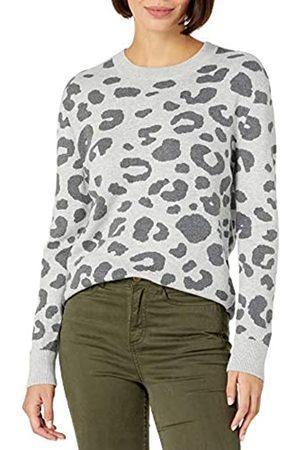 Daily Ritual Ultraweicher Jacquard Rundhalsausschnitt Pullover Sweater