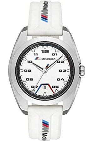 BMW Herren Analog Quarz Uhr with Silikon Armband 1000