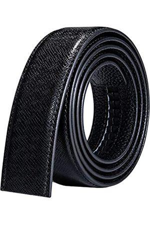 Barry.Wang Herren-Ratschenschnalle oder -riemen nur echtes Leder Ersatz-Gürtel nickelfreie Schnalle verstellbar - - Einheitsgröße