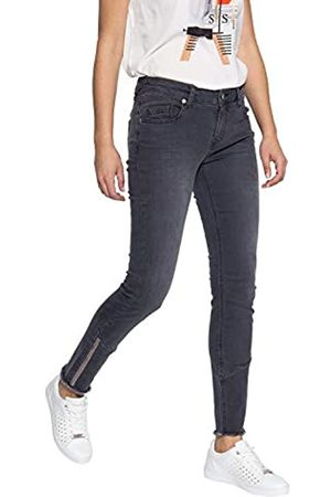 ATT ATT Jeans Damen Slim Fit Jeans Mit Offenen Saumkanten Leoni