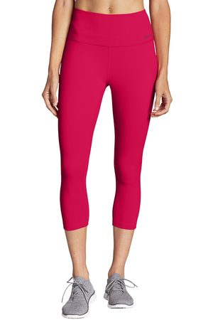 Eddie Bauer Damen Capris - Movement Lux Capri - High Rise Damen Gr. XS