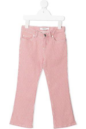 BONPOINT Striped kick-flare jeans