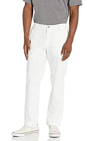 Cutter & Buck Herren Men's Voyager Chino, White, 3834 Golfhose