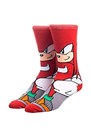 Bioworld Sonic The Hedgehog Knuckles Charakter Crew Socken