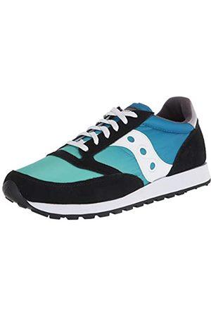 Saucony Unisex-Erwachsene Jazz Fade Black/Blue/Green Leichtathletik-Schuh