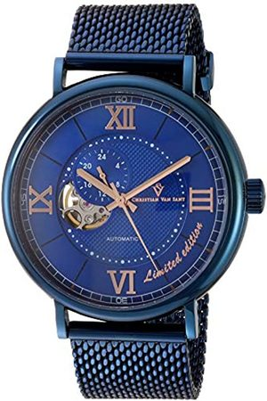 Christian Van Sant Herren Somptueuse Limited Edition Automatisches Edelstahl-Armband 21.9 Casual Watch (Modell: CV1145)