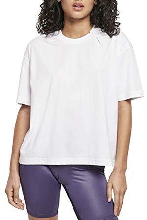 Urban classics Urban Classics Damen Ladies Organic Oversized Pleat Tee T-Shirt
