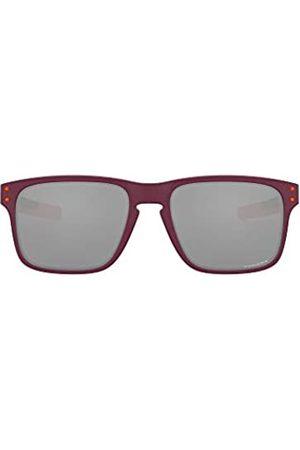Oakley Oakley Herren Holbrook Mix Ember Collection OO9384 Sonnenbrille, Matte Vampirella/Prizm Black