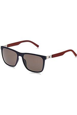 Tommy Hilfiger Tommy Hilfiger - TH 1445/S - Sonnenbrille Herren Rechteckig - Gummi und metall - 100% UV schutz - Schutzkasten inklusiv