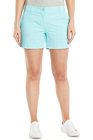 Nautica Damen Comfort Tailored Stretch Cotton Solid and Novelty Legere Shorts