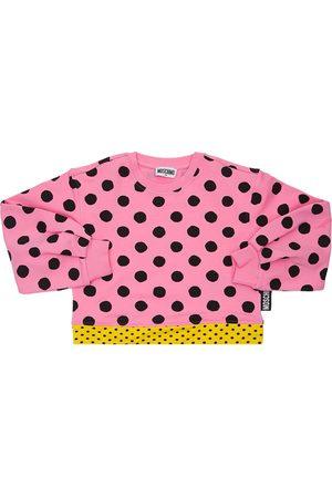 Moschino Sweatshirt Aus Baumwolle Mit Druck
