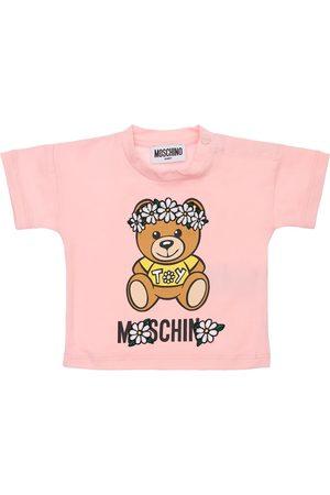 Moschino T-shirt Aus Baumwolljersey Mit Druck