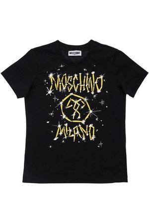 Moschino T-shirt Aus Baumwolljersey Mit Logo