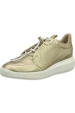 Geox Geox Damen D RUBIDIA B Sneaker, Platinum/BEIGE