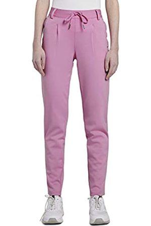 TOM TAILOR TOM TAILOR Denim Damen Knitted Trackpants Freizeithose, 22340-bright pink