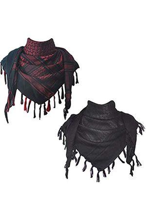 Explore Land Explore Land Schal aus Baumwolle mit Shemagh-Motiv - - Einheitsgröße
