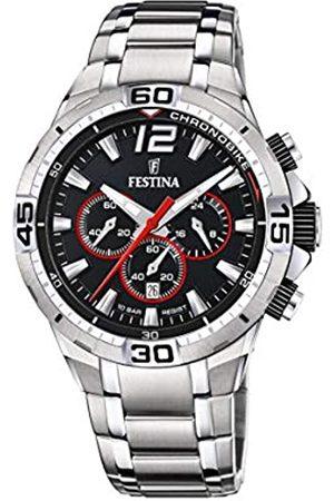 Festina Festina Herren Analog Quarz Uhr mit Edelstahl Armband F20522/6