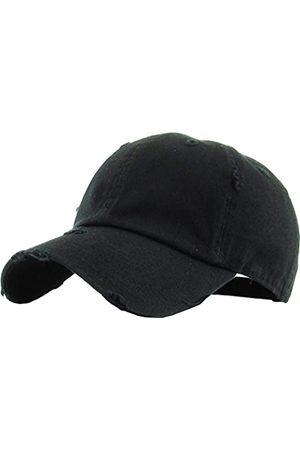 KBETHOS Vintage gewaschen Distressed Cotton Dad Hut Baseball Cap einstellbar Polo Trucker Unisex Style Headwear einstellbar