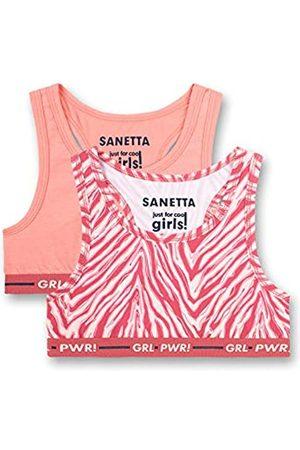 Sanetta Sanetta Mädchen Bustier im Doppelpack rosa Sport-BH