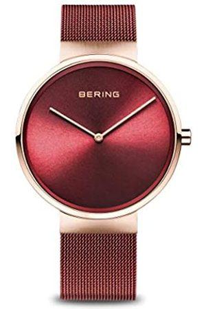 Bering BERING Unisex-Armbanduhr Analog Quarz Uhr mit Edelstahl Armband 14531-363