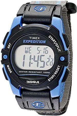 Timex Expedition Unisex-Armbanduhr Expedition Chrono Alarm Timer Digital Textil T49660