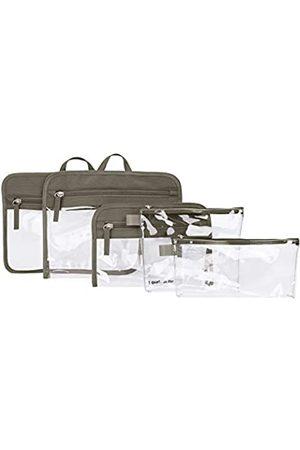 Travelon Travelon Unisex-Erwachsene Gepäckset 5 Packtaschen (Braun) - 43463-761