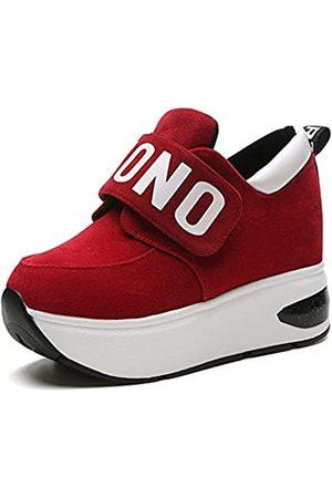 Fashion PP PP Fashion Damen Elegant formelle Casual Sport Wedges Plateau-Sneakers versteckte Ferse Shake Schuhe