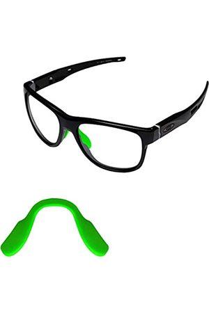 Tintart Tintart Nasenstücke Nasenpads für Oakley Crossrange OO9361 Sonnenbrille, Gr�n (dunkelgrün)