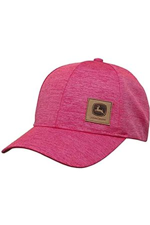John Deere John Deere 6 Panel Cap Space Dye-Medium Pink-Os