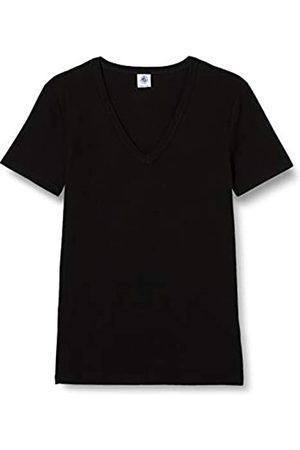 Petit Bateau Damen Tee Shirt Mc Noir [ T-Shirt Not Applicable (Noir 1p7)