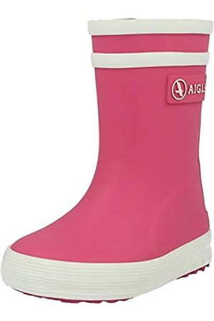 Aigle Aigle Unisex-Kinder Baby Flac Gummistiefel, Pink (Rose New)