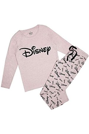 Disney Disney Damen Monochrome Logo Pyjama Set Pyjamaset