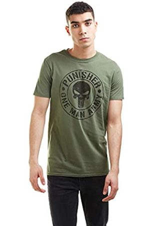 Marvel Herren One Man Army T-Shirt