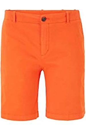HUGO BOSS BOSS Damen Saclea-D Regular-Fit Chino-Shorts aus Stretch-Baumwolle mit Satin-Finish
