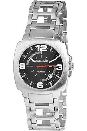 Excellanc Herren-Armbanduhr XL Analog Quarz Verschiedene Materialien 284021000110