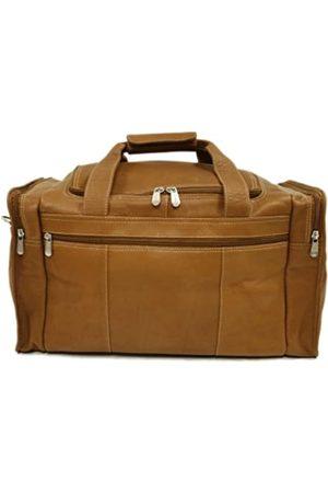 Piel Piel Leather Reise Reisetasche mit Seitentaschen in