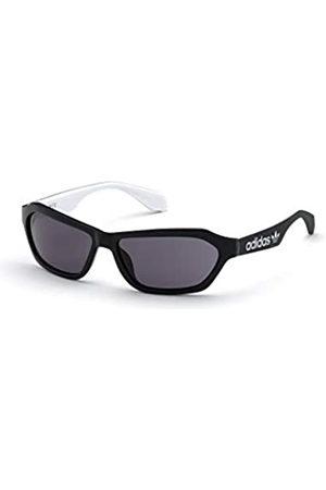 adidas Unisex-Erwachsene OR0021 Sonnenbrille, Shiny Black/Smoke