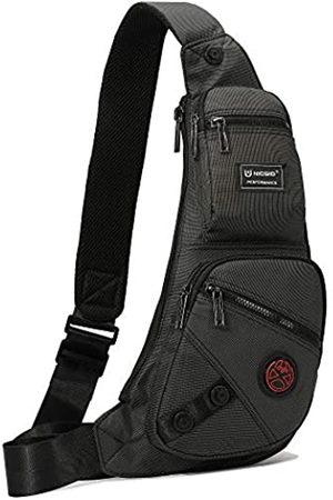 Nicgid Nicgid Sling Bag Chest Shoulder Backpack Fanny Pack Crossbody Taschen für Herren