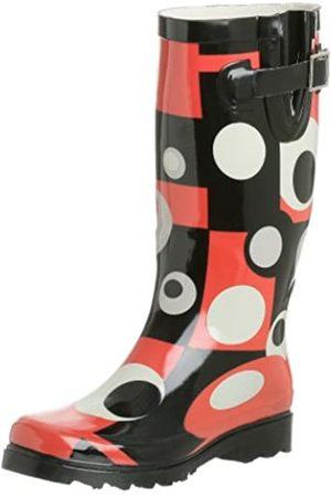 Chooka Damen Mod Dot Regenstiefel, Mehrere (Deco)