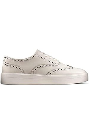 Clarks Clarks Mädchen Hero Brogue. Brogues, Weiß (White Leather White Leather)